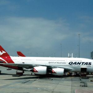 Открытка для посткроссинга «Airbus A380-800»