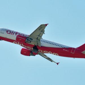 Открытка для посткроссинга «Airbus A320-200»
