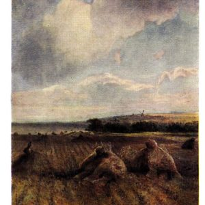 Старая открытка К концу лета на Волге