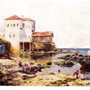 Старая открытка Бейрут