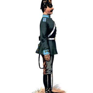 Открытка для посткроссинга «Рядовой обозных войск»