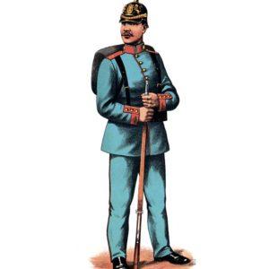 Открытка для посткроссинга «Ефтейтор пехоты»