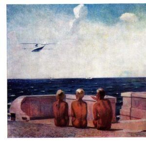 Будущие летчики