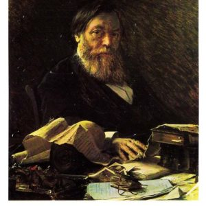 Портрет писателя Павла Ивановича Мельникова