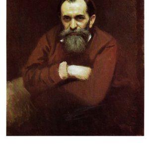 Портрет художника Василия Григорьевича Перова