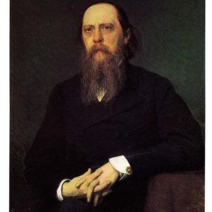 Портрет писателя Михаила Евграфовича Салтыкова