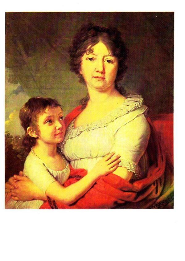 Портрет Анны Лабзиной и Софьи Мудровой