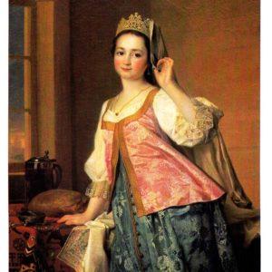 Портрет Агафии Дмитриевны Левицкой