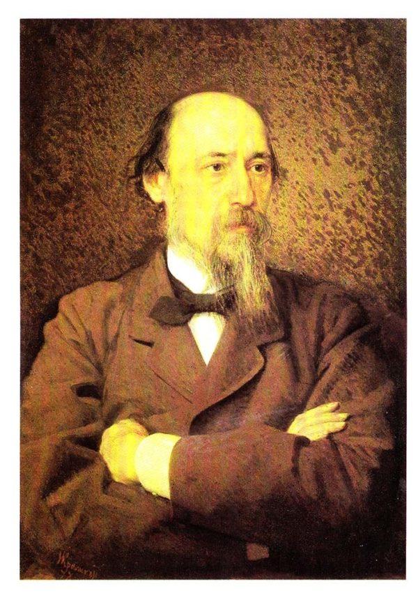 Портрет поэта Николая Алексеевича Некрасова