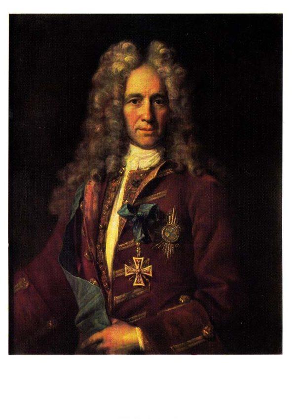 Портрет государственного канцлера Г. И. Головкина