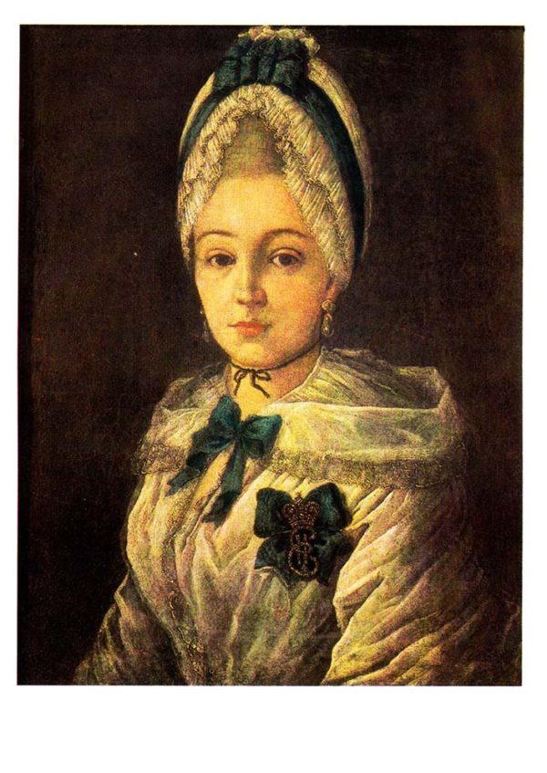 Портрет неизвестной в белом чепце