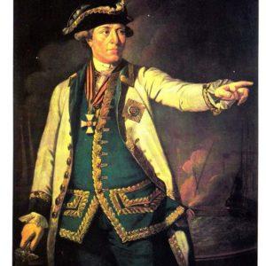 Портрет контр-адмирала С. К. Грейга