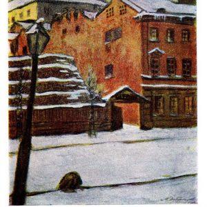 Открытка «Зима»
