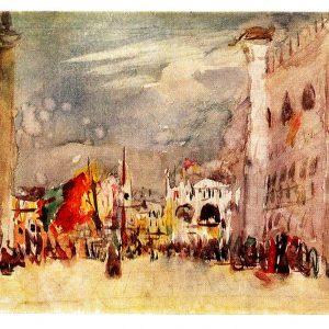 Старая открытка «Венеция»